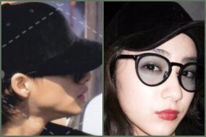 平野紫耀と平祐奈のお揃い匂わせ画像:帽子
