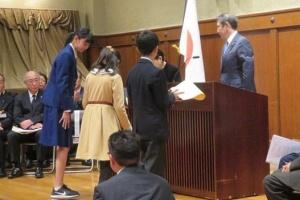 中学生時代の成田愛純の画像