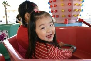 3歳の時の成田愛純(なりたあすみ)の画像