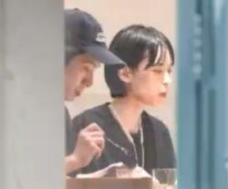 三宅健と彼女の比留川游のデート画像