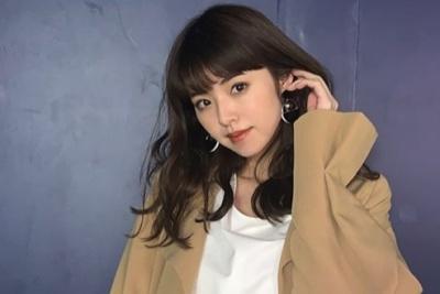 2019年3月に出演した関西コレクションでのオフショット