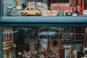 フワちゃんのお父さんはアメリカ雑貨の店を経営している