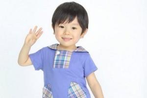 田野井健の小さい頃がかわいい