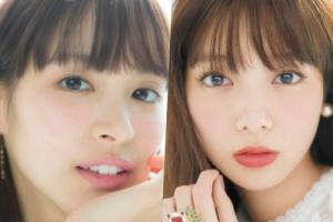 関水渚と新川優愛は本当に似てるのか画像で比較