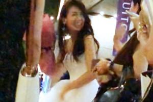 和久田麻由子アナの結婚式の画像