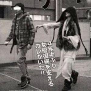 沢尻エリカと彼氏のnaokiの画像