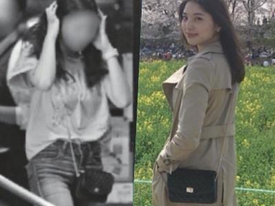 櫻井翔とスクープされた女性と天野一菜の私物が一致:キルティングチェーンバッグ