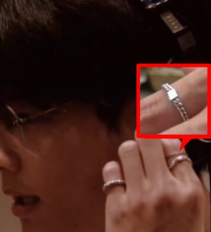 松村北斗が着用しているリング