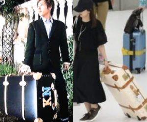 伊藤綾子の匂わせ画像:キャリーバッグ