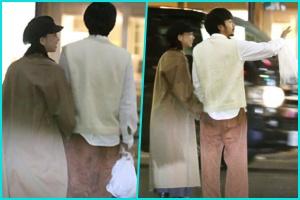 中目黒でデートを楽しんだ仲野太賀と森川葵はタクシーで森川のマンションへ向かった