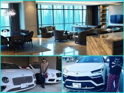 加藤紗里の彼氏・斎藤裕仁の所有している高級車や数億円のペントハウス