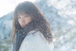トラウデン直美のインスタ画像:雪