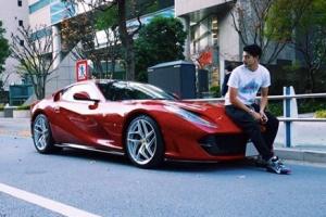 石倉ノアの所有する高級車
