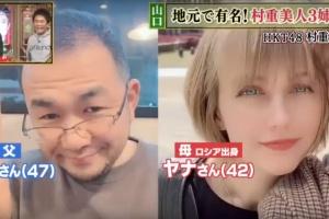 村重杏奈の両親:左が父の公亮、右が母のヤナ
