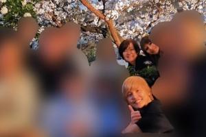 安倍昭恵夫人が開催した「私的桜を見る会」で撮られた写真