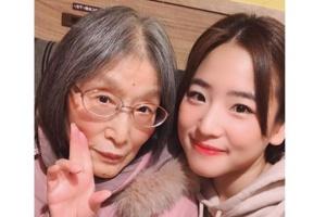 仲川遥香と祖母