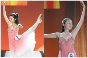 オーディションで特技のバレエを披露した堀田真由