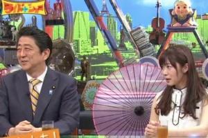 2016年5月のワイドナショーで安倍首相と指原莉乃が共演した