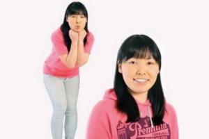 尼神インターの宣材写真を撮影した当時、誠子の体重は75キロあった