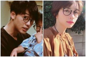 竹内涼真と元カノ・里々佳のお揃いアイテム:眼鏡