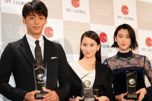 竹内涼真と三吉彩花:ベストスタイリングアワード2016で共演