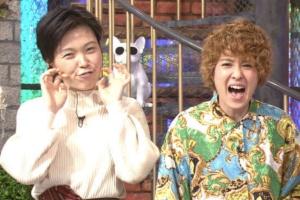 2019年激痩せ時の尼神インター誠子(左)