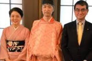河野太郎の嫁の顔画像