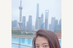 中国を訪れた際の小島瑠璃子