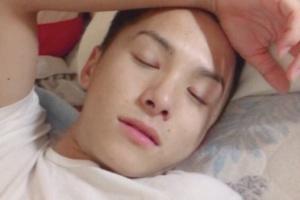 流出した川西拓実の寝顔画像