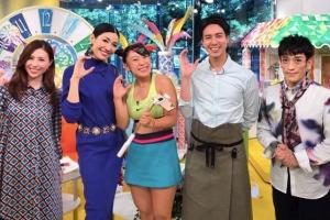 フワちゃんとクリス松村は日曜はカラフルで共演している